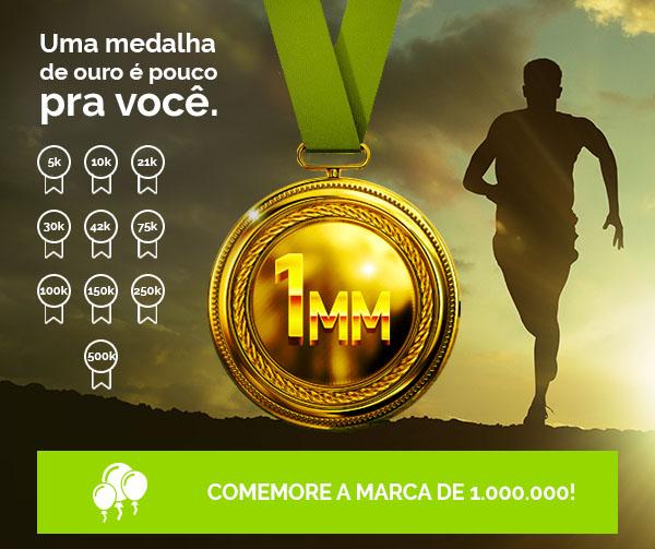 Uma medalha de ouro é pouco pra você!